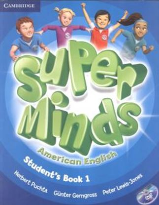 Imagem de SUPER MINDS AMERICAN ENGLISH 1  - STUDENT´S BOOK WITH DVD-ROM