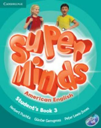 Imagem de SUPER MINDS AMERICAN ENGLISH 3 - STUDENT´S BOOK WITH DVD-ROM
