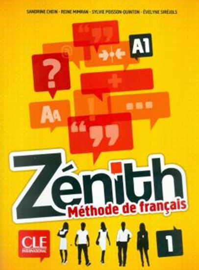 Picture of ZENITH 1 - LIVRE D´ELEVE + DVD-ROM A1