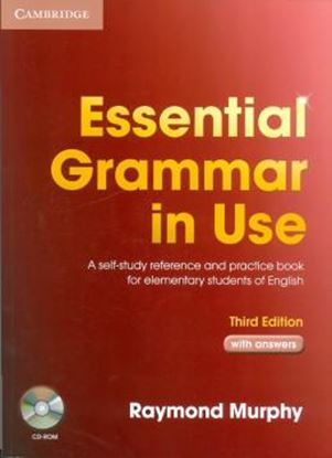 Imagem de ESSENTIAL GRAMMAR IN USE WITH ANSWERS AND CD-ROM - THIRD EDITION