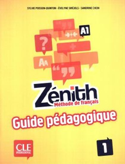 Picture of ZENITH 1 - GUIDE PEDAGOGIQUE (A1)