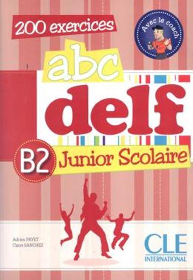 Picture of ABC DELF JUNIOR SCOLAIRE B2 - LIVRE + CD AUDIO