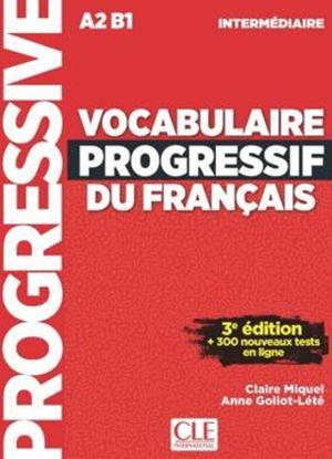 Imagem de VOCABULAIRE PROGRESSIF DU FRANCAIS - NIVEAU INTERMEDIAIRE + CD - 3ª ED